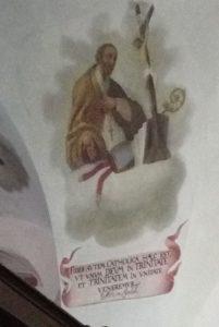 Svatý Athanasius v chrámu Nejsvětější Trojice na Křemešníku