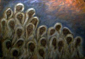 Poločasí - očistec. (Marie Švančarová 1930-2007)