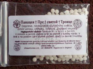 Homeopatika Tabacum a Sol pomáhají tělu vyrábět vitaminy D a B3.