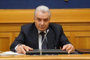 Populární italský soudce, exministr a president Světové organisace pro život Angelo Giorgianni.