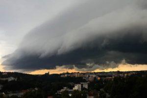 Bouře nad Jihlavou 8. 7. 2021, foto Martina Kratochvílová...